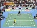 羽毛球比赛;男单;鲍春来;索尼;汤姆斯杯(上)