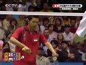 2007年苏迪曼杯羽毛球赛半决赛男单印尼(陶菲克)VS英国(安德鲁史密斯)