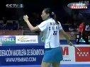 2006年羽毛球世界锦标赛第16轮女单张宁VS马来西亚女单(1)
