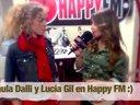 [interview][HappyFM][2013-02-21] Lucia Gil y Paula Dalli