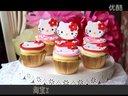 小樱sweet-cake 粉嫩hollekitty猫杯子蛋糕 女生的最爱哦纯手工