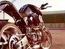 Buell S1摩托车改240后胎 霸气侧露