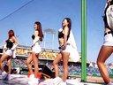韩国性感美女拉拉队热舞