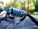 取用涡轮螺旋桨引擎的自制飞机