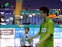 2005年第十届全运会羽毛球赛男团决赛陈其遒傅海峰VS蔡赟徐晨(1-2)