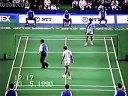 1990年羽毛球汤姆斯杯半决赛 熊国宝VS拉尔森-A
