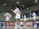5羽毛球教学--正手发后场高远球练习方法