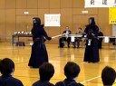 2012 東京経済大学剣道錬成大会原田悟先生大学生五人模範試合