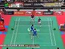2011年新加坡羽毛球超级赛男双半决赛 蔡赟傅海峰VS李龙大郑在成