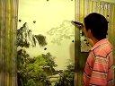 青年画家 李茂群 国画山水技法视频教学 中远景(一)