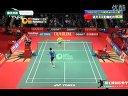 2012印尼羽毛球公开赛男单八分之一决赛 谌龙VS帕鲁帕利 精彩片段