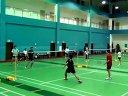 网球自由联盟之友:2012-6-20:羽毛球队际交流赛:男子双打