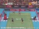 2012新加坡羽毛球公开赛女双决赛 包宜鑫/钟倩欣VS程文欣/简毓瑾