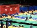 2012 全国羽毛球锦标赛女单——卢兰赛前拉球