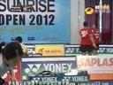 2012越南羽毛球公开赛女双半决赛泰国VS马来西亚