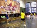 2012索牌羽毛球比赛视频  徐繁黄涛 VS袁良友黄鹄 21:14  21:18  —运动天视频