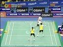2011韩国羽毛球超级赛 混双决赛  张楠赵芸蕾VS陶嘉明田卿
