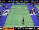 2012法国羽毛球公开赛男单八分之一决赛 盖德VS jayaram