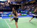 2012法国羽毛球超级公开赛男双决赛 伯丁马尼鹏v高成炫李龙大