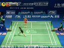 李雪芮VS拉德查诺克·因塔农 2012中国羽毛球公开赛女单决赛