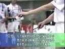 《学打羽毛球》系列第7集反手发球技