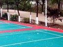 邱福林羽毛球高远球发球