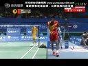 谌龙VS杜鹏宇 2012年世界羽联年终总决赛男单决赛 羽毛球知识教学网提供