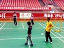 新东方羽毛球2B协会打球的欢乐视频