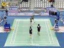 新浪微博@羽球南方淘宝店V 2013年韩国羽毛球公开赛 郑景银金荷娜VS玛丽莎Variella