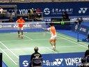 羽毛球比赛高清视频  男单决赛 杜鹏宇 谌龙 2013台北亚锦赛 1