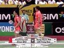刘小龙邱子瀚VS李龙大高成炫 2013印度羽毛球超级赛决赛 爱羽客羽毛球网