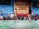 精英组混双比赛片段集锦 北京第十四届贝特杯羽毛球邀请赛