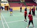 2013年体育馆全民健身羽毛球比赛半决赛
