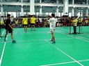 上海市羽毛球锦标赛,同济对体院男双2