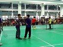 上海市羽毛球锦标赛,上理对交大男双(只有这一部分