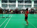 上海市羽毛球锦标赛,上财对华政(陆春琳)