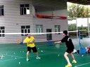 羽毛球前场训练1