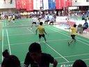 2013西安科技大学羽毛球  VS培华 男双