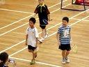 2013.7.13 上海市青少年 羽毛球锦标赛 10 D组男子网前双打 十项