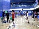 香港第九屆敬發杯羽毛球分齡賽  〔2013年〕比賽實況    (上集)
