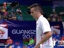 瓦拉贝尔vs谌龙 2013羽毛球广州世锦赛 羽毛球知识教学网