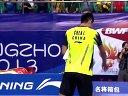 佐佐木翔vs谌龙 羽毛球知识教学网 2013羽毛球世锦赛