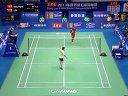 阮天明vs林丹 羽毛球知识教学网 2013羽毛球世锦赛男单半决赛