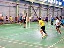 郑州羽毛球-2013年郑州新大方杯羽毛球赛混双决赛第一局