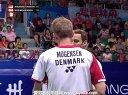 阿山塞蒂亚万VS鲍伊摩根森 2013羽毛球世锦赛决赛 爱羽客羽毛球网