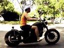 国内本田铁马400改装 美式bobber巡航摩托车