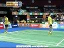 吴伟申林钦华VS萨纳维鲁佩什 2013印度羽毛球联赛 爱羽客羽毛球网