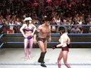 内衣女子摔跤之要害攻击