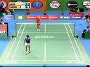 Tine Baun Vs PV Sindhu羽毛球知识教学网 2013印度羽毛球联赛