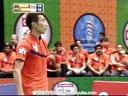 爱羽客羽毛球网 李宗伟VS加卢西达 2013印度羽毛球联赛 男单半决赛